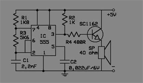 Alarm Tikus Rangkaian Pengusir Tikus Elektronik