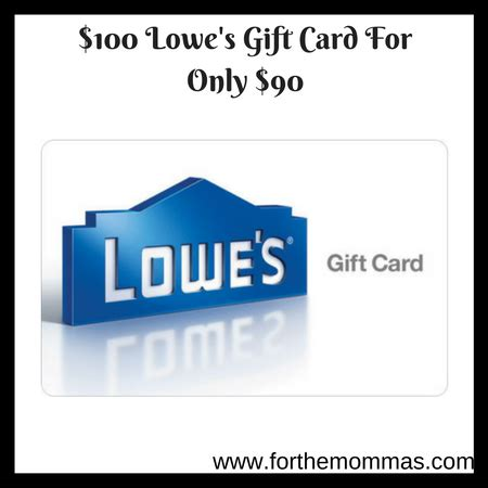 best lowes 100 gift card for 80 noahsgiftcard