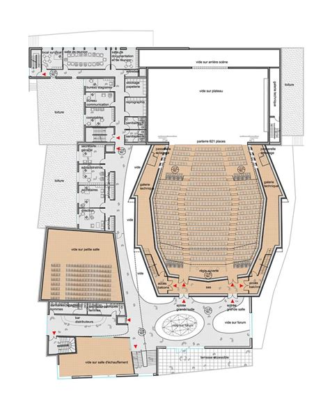 theatre floor plan 25 best ideas about theater architecture on pinterest