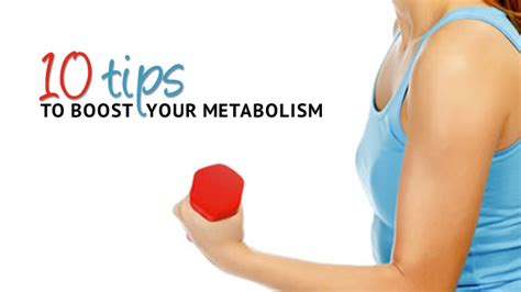 10 Tips To Your Metabolism by System 10 Weight Loss 10 Tips To Boost Your Metabolism