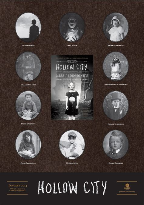 miss peregrine s home for peculiar children series 1 hollow city cover reveal on entertainment weekly poster