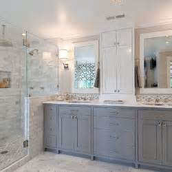 Gray And White Bathroom Ideas Gray And White Bathroom Design Ideas Pictures Remodel