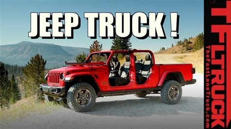 Jeep Truck 2020 2 Door by 2020 Jeep Gladiator 2 Door Used Car Reviews Review