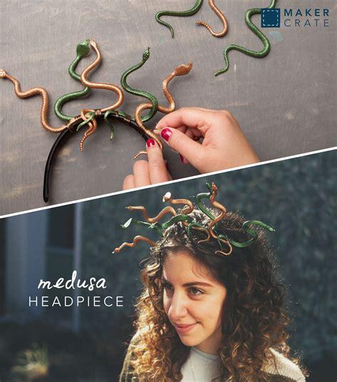 medusa hair costume medusa headpiece medusa headpiece halloween diy and
