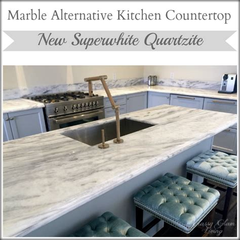 Marble Alternative Countertops by S Playroom Reveal Glam Living
