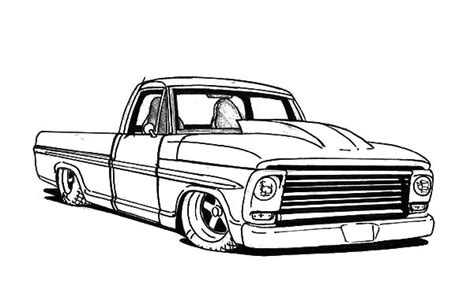 lowrider truck coloring page pinterest the world s catalog of ideas