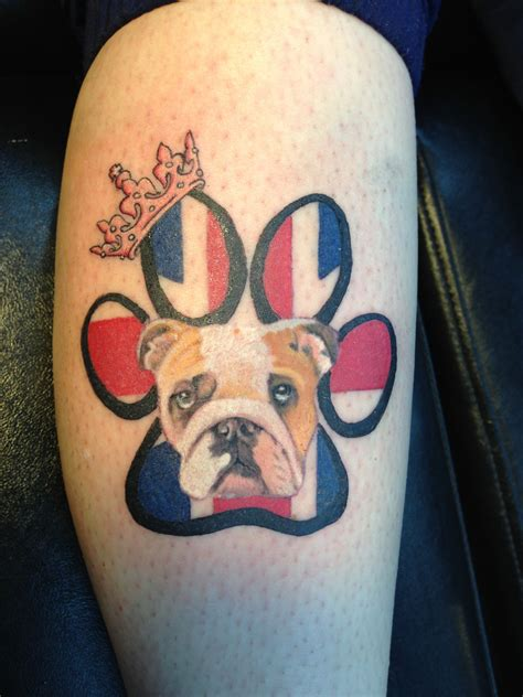english bulldog tattoo designs bulldog pup ideas next one