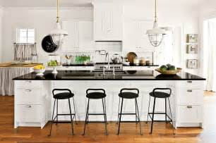 Open Floor Plan Design Ideas Black And White Kitchens Ideas Photos Inspirations