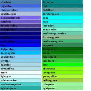 types of green color amazing green color types 10 blue green color names