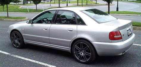 audi s4 b5 silver vmr v708 rs4 replica s on a silver b5 s4 audiforums