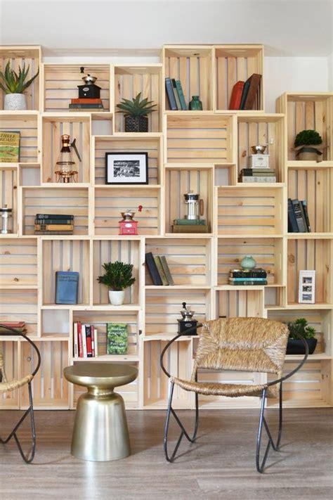 decorare cassette di legno cassette in legno per decorare casa 20 idee lasciatevi