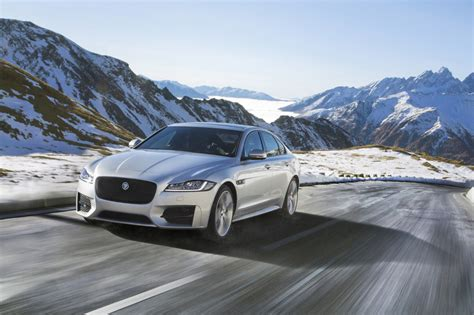 jaguar xf update jaguar xf gets update and awd for 2016