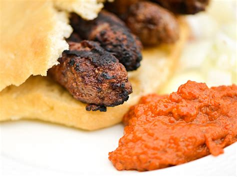 cevapi southeastern european meat  onion sausages