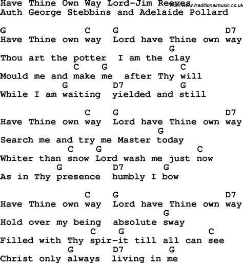Lead Me Home Lyrics by Country Southern And Bluegrass Gospel Song Thine Own