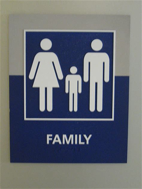 family bathroom sign family restroom sign flickr photo sharing