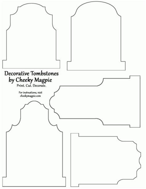 headstone templates tombstone template all hallow s