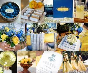 Decorating Ideas Yellow And Blue Blue And Yellow Wedding Cocktail