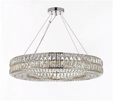 Crystal Halo Chandelier Modern Contemporary Lighting Gallery Chandelier