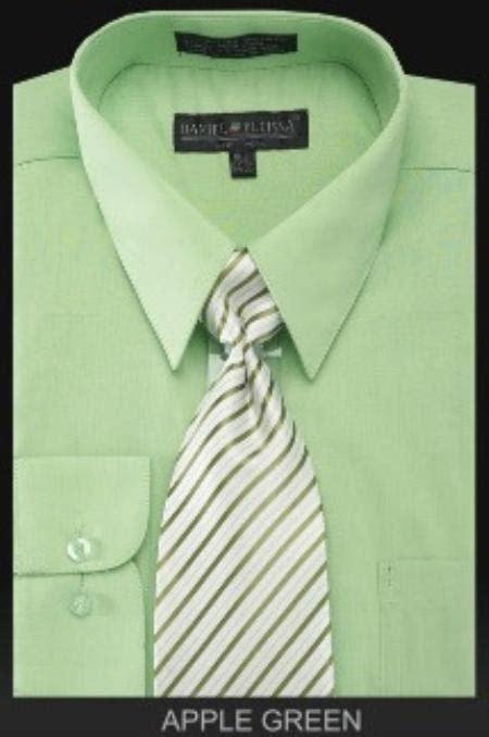 light mint green dress shirt sku mk0202 men s dress shirt premium tie lime mint