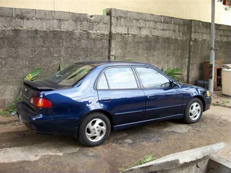 Toyota Corolla 2001 Price Toyota Corolla 2001 S Model For Sale Price Reduced 1
