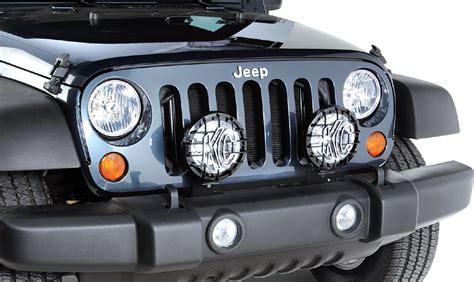 jeep lights on quadratec jk lmb auxiliary light mount brackets for 07 18