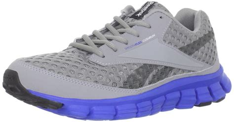 running shoe for flat reebok reebok mens smoothflex running shoe in gray for