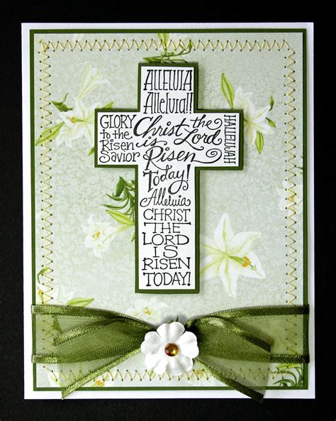 Handmade Christian Cards - easter card christian religious by handyscraps on etsy