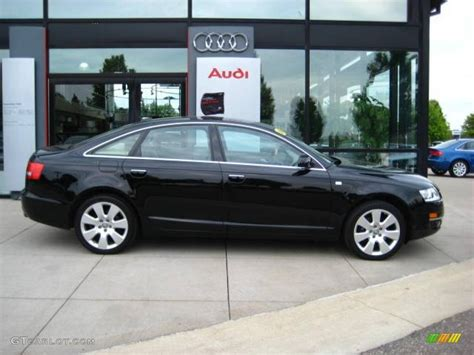 2006 A6 Audi by 2006 Brilliant Black Audi A6 3 2 Quattro Sedan 14217829