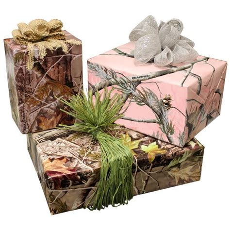 realtree camo hunting wrapping paper holidays hunt and