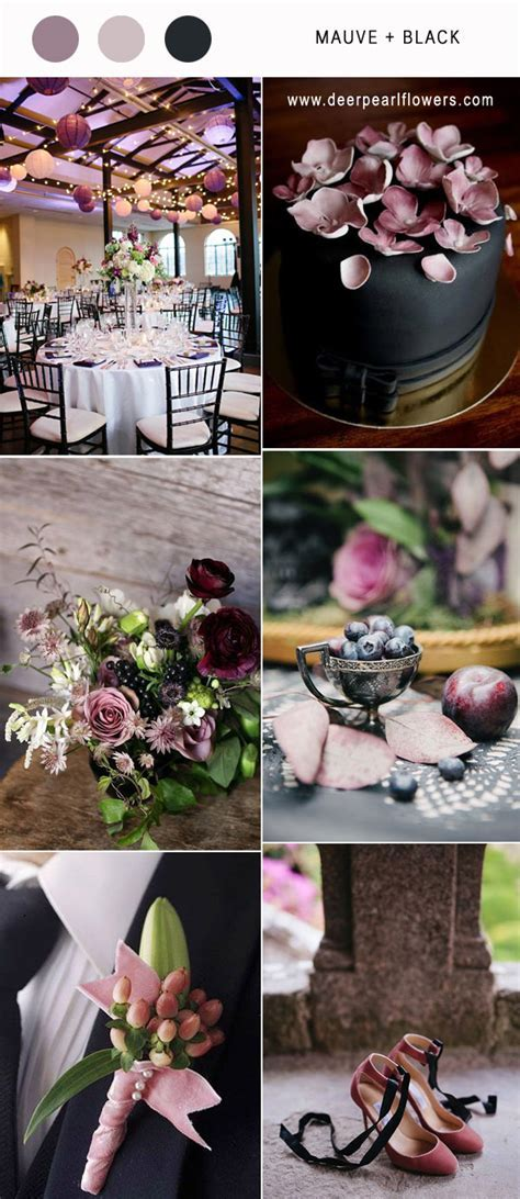 Best 6 Mauve Wedding Color Combos for 2018   Deer Pearl
