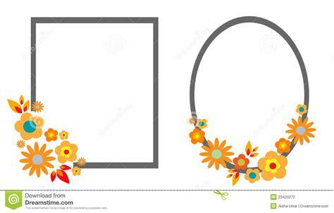 grace frame pattern templates floral frames stock photography image 33420272