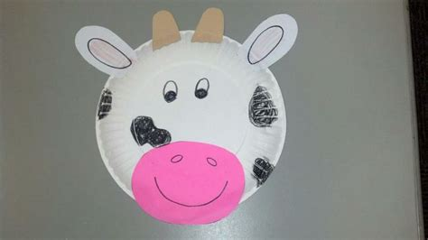 Cow Paper Craft - best 25 cow craft ideas on farm activities