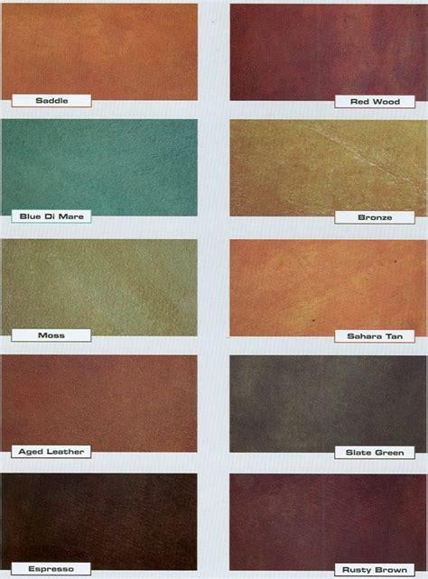 concrete acid stain color chart concrete acid stain color chart countertops backsplash