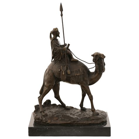 Marble Temple Home Decoration by Arab Bedouin On Camel Bronze Sculpture Bronze Statue