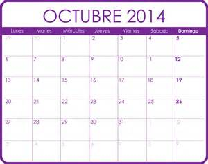 Calendario De Octubre Calendario De Octubre 2014 Para Imprimir New Style For