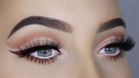 tutorial eyeliner youtube soft everyday cutcrease burgundy eyeliner tutorial youtube