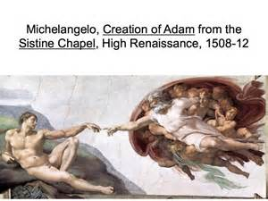 michelangelo creation of adam from the sistine chapel