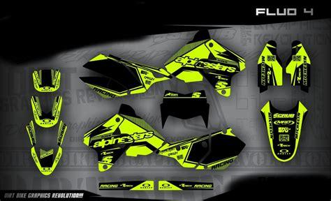 drz 400 dekor suzuki drz 400 neon dekor 4 bp mx kingz motocross shop