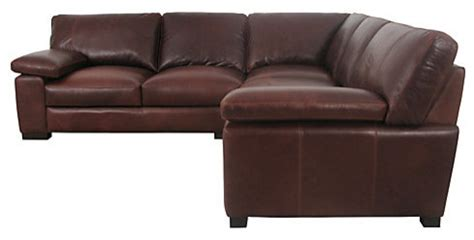 Leather Sofa Corner Units Mattis Leather Corner Unit Traditional Sectional Sofas By Lewis