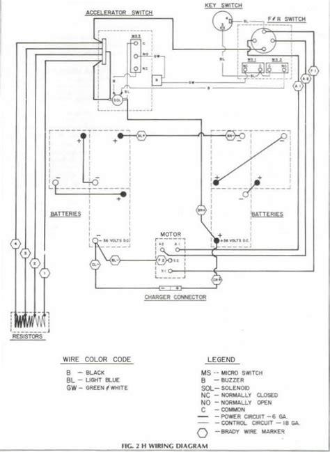 ezgo golf cart headlight wiring diagram 39 wiring