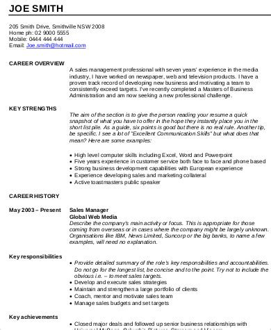 resume sles for experienced sales resume format sle 9 exles in word pdf