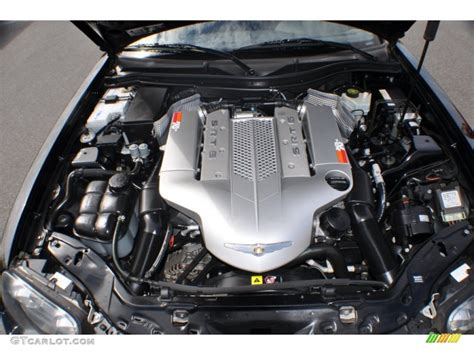 2005 chrysler crossfire srt 6 coupe 3 2 liter supercharged sohc 18 valve v6 engine photo