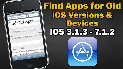 find apps compatible   ios versionsdevices iphone