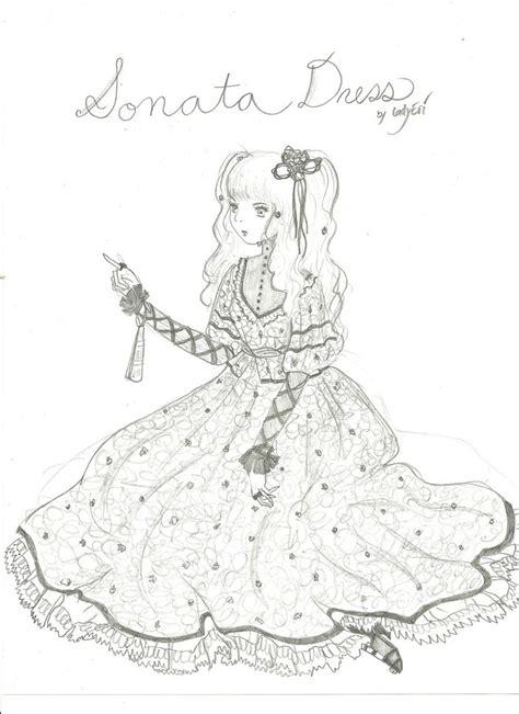 Dress Sonata Lacerp sonata dress design by ladyeri on deviantart