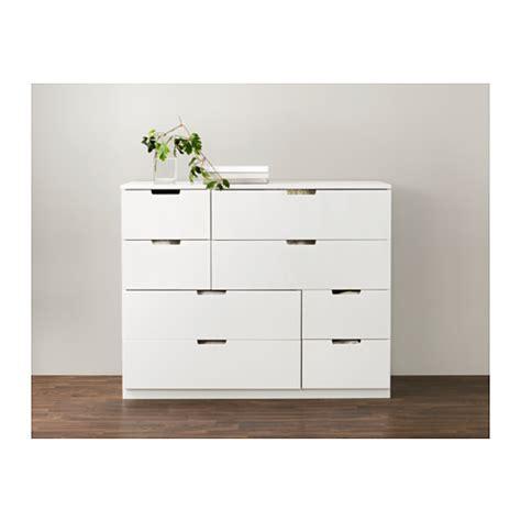 Kommode Nordli by Nordli Chest Of 8 Drawers White 120x97 Cm Ikea