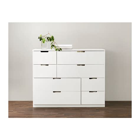 NORDLI Chest of 8 drawers White 120x97 cm   IKEA