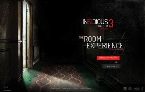 The Room 3 by Insidious Chapter 3 The Room Experience The Fwa