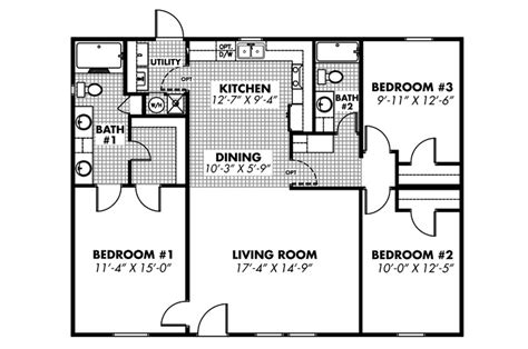 2 bedroom mobile home plans photos and video wylielauderhouse com two bedroom mobile homes double wide floor plans 2