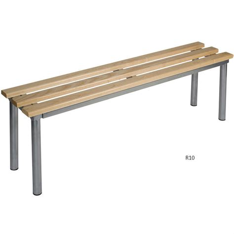 changing room benches club round frame basic changing room bench deep bench