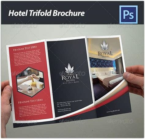 28 best hotel brochure templates web resources free